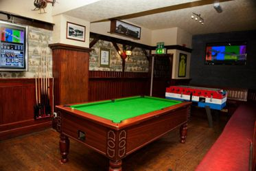 North Wales (Bangor) Dorm Lodge games room