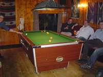 South West Wales Dormlodge pool table